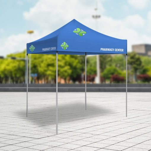 Event Tents | Durable, scratch-resistant material for long time use And Easy-to-assemble, sturdy aluminum frame | Print Magic