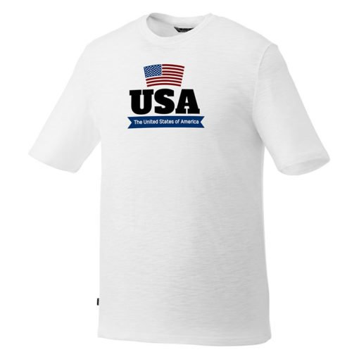 Mens T-shirt Short Sleeve White | Made of pre-shrunk 100% cotton | white T-Shirt best buy for greater brand promotion | PrintMagic