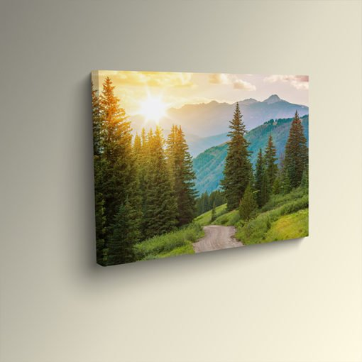 Mounted Canvas Prints   Mounted Canvas printing with Artist Canvas Banner 17 mil. Material and Gallery Wrap   PrintMagic