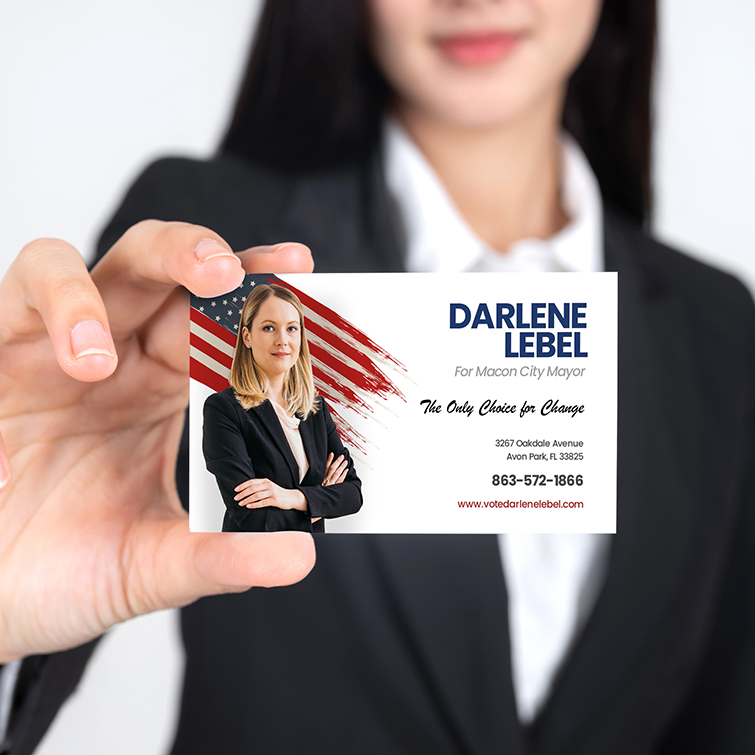 Election Printing For Every Campaign - Political Business Cards