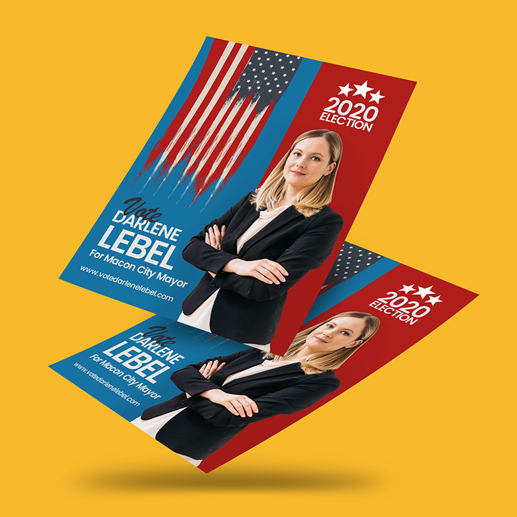 Election Printing For Every Campaign - Political Flyer