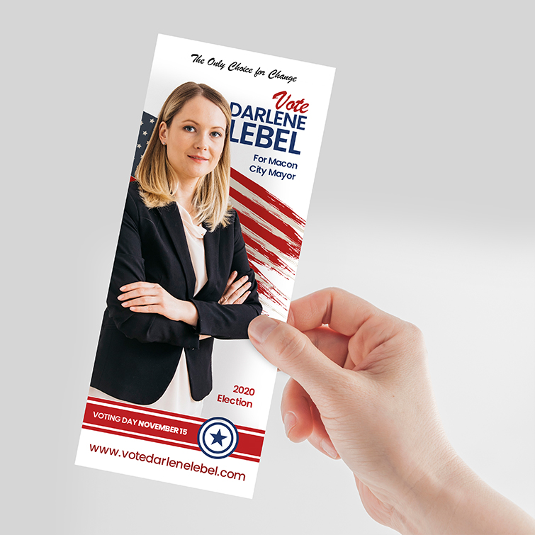 Election Printing For Every Campaign - Rack Cards