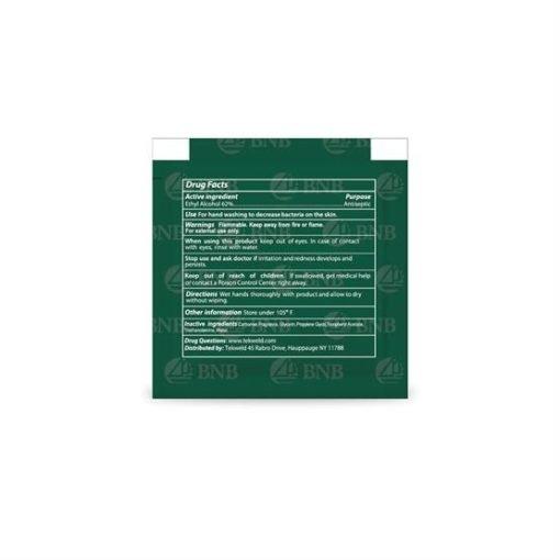 Customized 1/4 oz Hand Sanitizer Gel 3   Print Magic