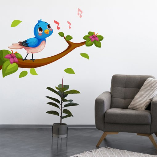 Repositionable Wall Decals | Wall Decal Commercial Home Decor | Printed on Color Front Only with Opaque Adhesive - 8 mil | Print Magic