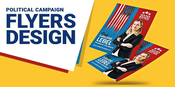 political campaign flyers