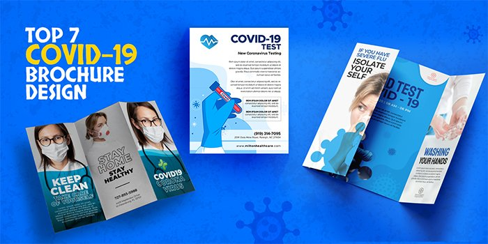 Top 7 COVID-19 Brochure Design Tips for your Business   Feature Image