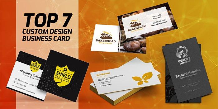 Top 7 Custom Design Business Card Ideas   PrintMagic