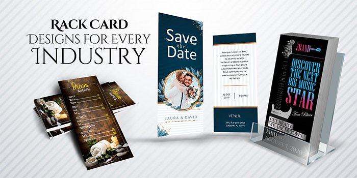 8 Must-Have Rack Card Designs for Every Industry
