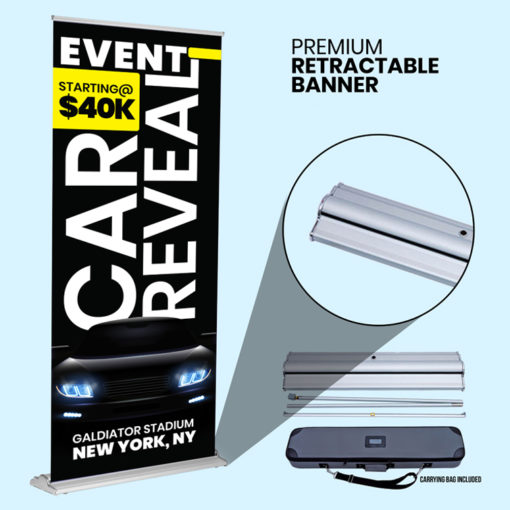 Retractable Premium Banner