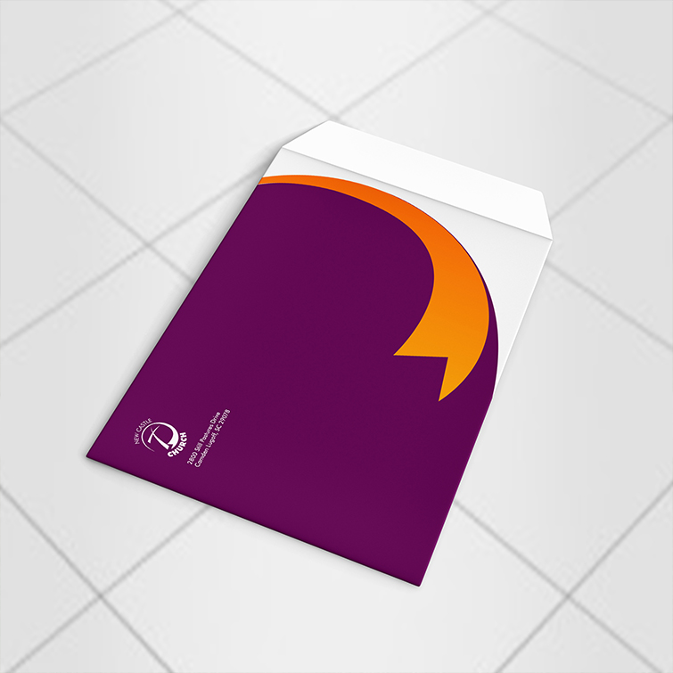 Church 6x9 envelopes | Perfect for business contracts, applications, certificates and Writable White Premium Opaque paper stock | Print Magic