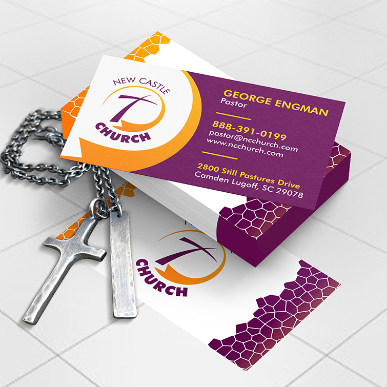 Church Standard Business cards | UV, Matte, and Aqueous coating to pick from and 5 size options available with square shapes as well | Print Magic