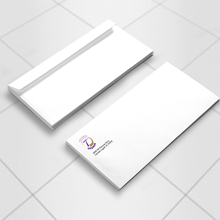 Church Standard Envelopes | Mail any kind of personal or professional documents and Writable paper stock with fade-resistant printing | Print Magic
