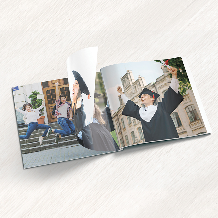 Education Photo Booklets | Standard Gloss Text With Aqueous Coating Academic Photo Booklets | Print Magic