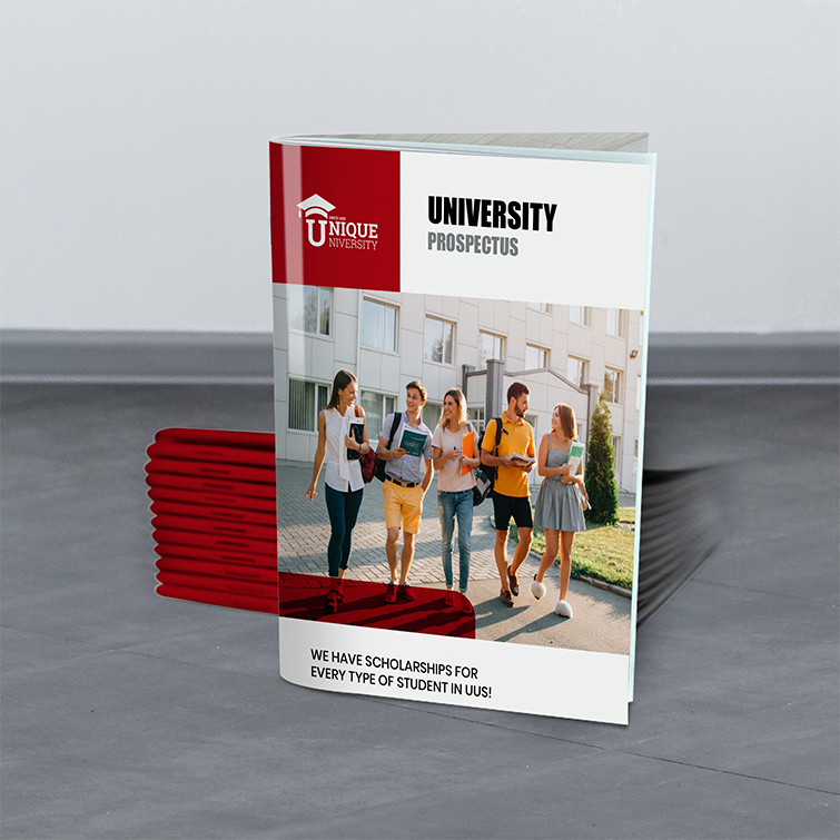Education Saddle Stitch Booklets | Standard Gloss Paper Stock With Aqueous Coating University Prospectus | Print Magic