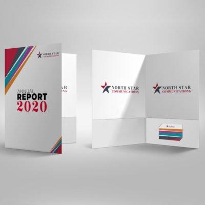 Pearl Metallic Presentation Folders | Standard Pearl Metallic 14 pt Paper Stock Business Corporate Annual Report | Print Magic
