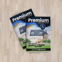 Real Estate Custom Booklets and Catalogs | Real Estate Custom Booklets and Catalogs with Premium coating options on Standard and Premium paper and Saddle Stitched or Perfect Binding available | Print Magic