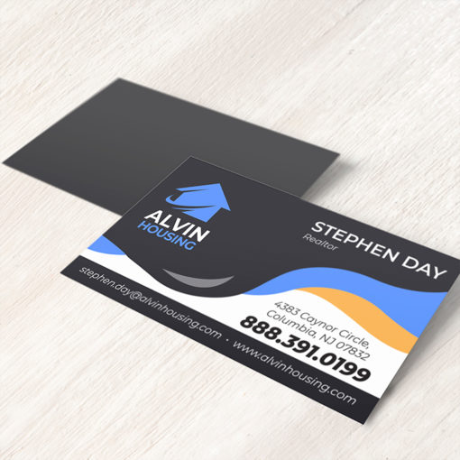 Real Estate Business Card Magnets | Real Estate Business Card Magnets with Full-color, fade-resistant printing on the front and 14 size and 4 shape options | Print Magic