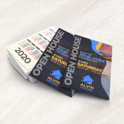 Real Estate Card Calendars   Real Estate Card Calendars with Available in custom sizes and Gloss and Matte Paper Stock   Print Magic