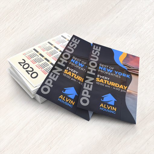 Real Estate Card Calendars | Real Estate Card Calendars with Available in custom sizes and Gloss and Matte Paper Stock | Print Magic