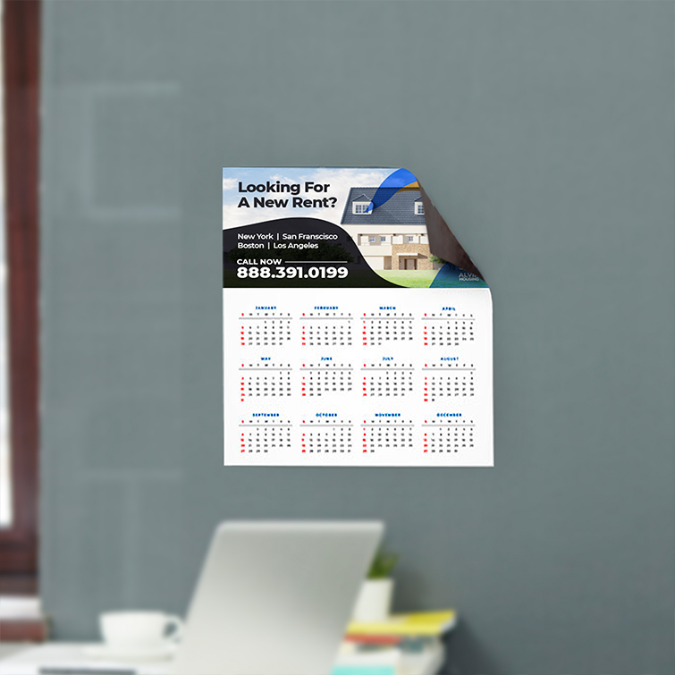 Real Estate Magnetic Calendars | Real Estate Magnetic Calendars with Perfect for any occasion and Gloss and Matte Paper Stock | Print Magic