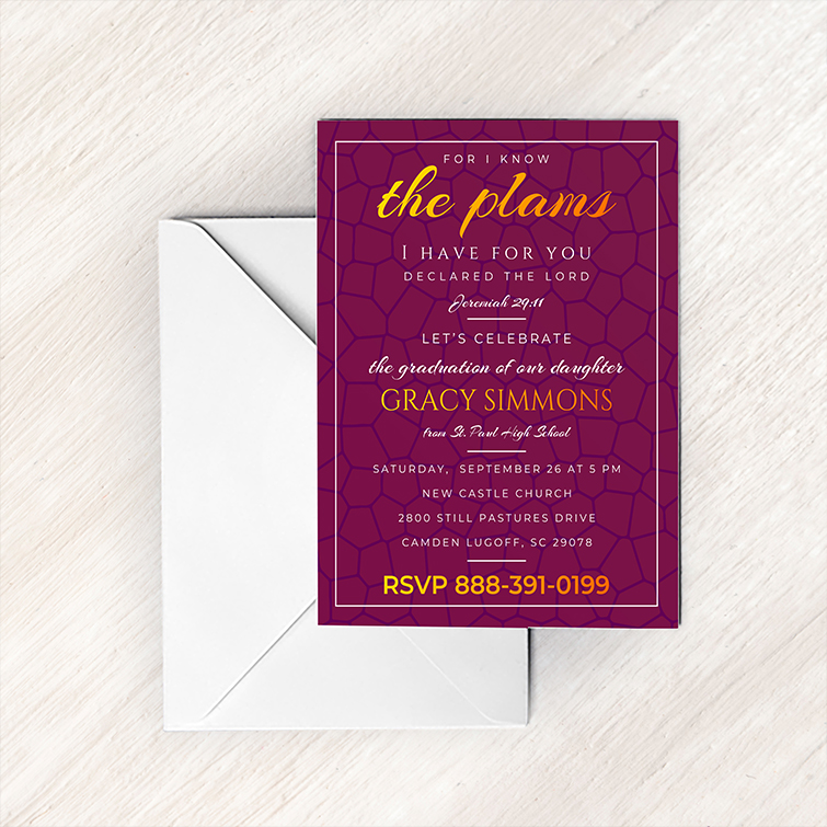 Announcement Cards | Premium Gloss, Standard Uncoated paper with UV or Matte coating and Professional or personal Invitation Cards for any event | Print Magic