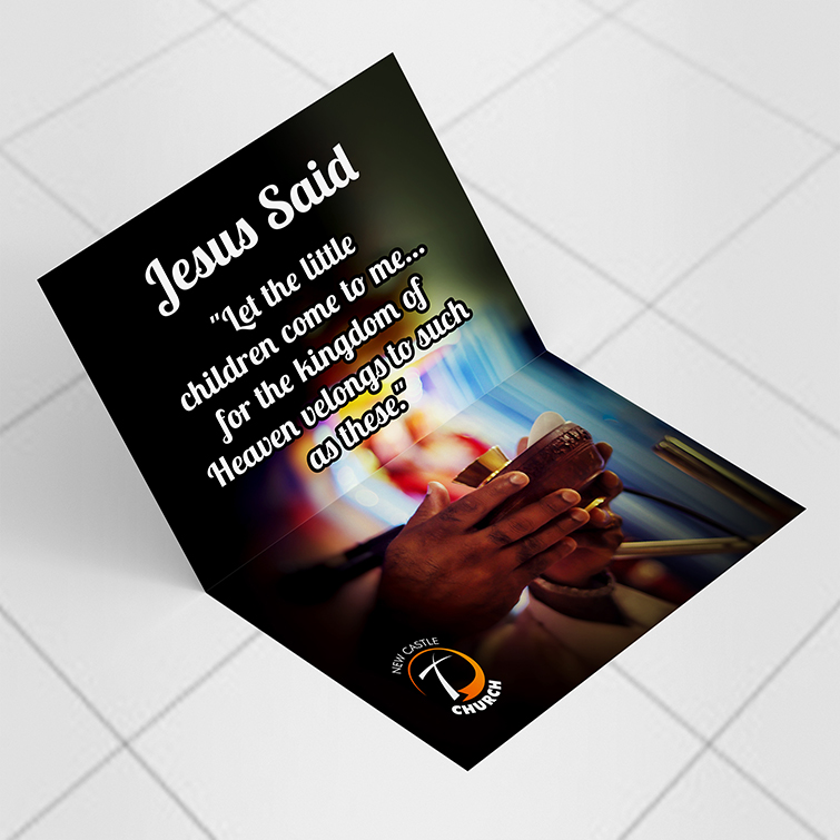 Religious Greetings | Premium Gloss or Standard Uncoated paper stock and UV Coating for a shiny and luxurious effect | Print Magic