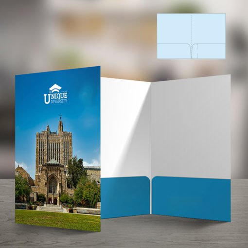 Pearl Metallic Presentation Folders | Standard both Pocket No Business Card Slits and Print Folders that feel amazing to touch and are economical | Print Magic