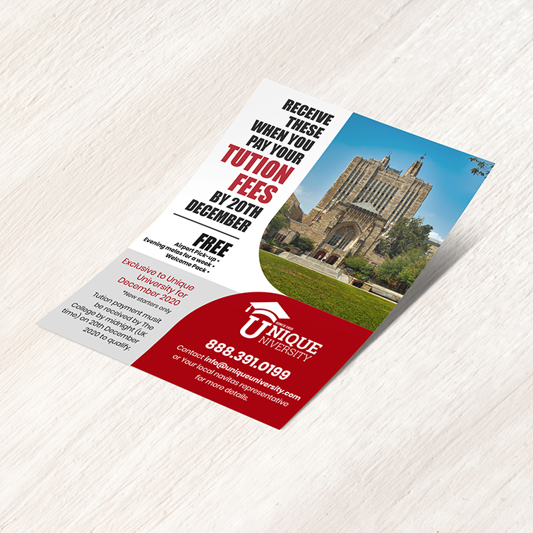 School Business Flyers | School Business Flyers printing with full-color printing with your custom design and Flat or folded flyer options | Print Magic
