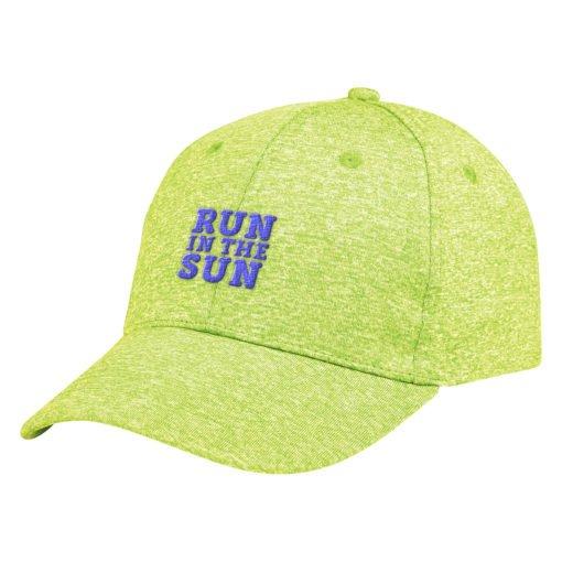 Print Custom Heathered Jersey Cap | PrintMagic