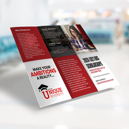 Half Fold and Then Trifold Brochure Printing At PrintMagic