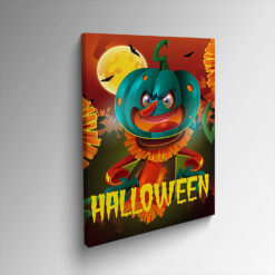 Halloween Mounted Canvas Prints | Turn your drawings and designs into beautiful mounted artwork and Small to large, square and rectangle sizes available | Print Magic