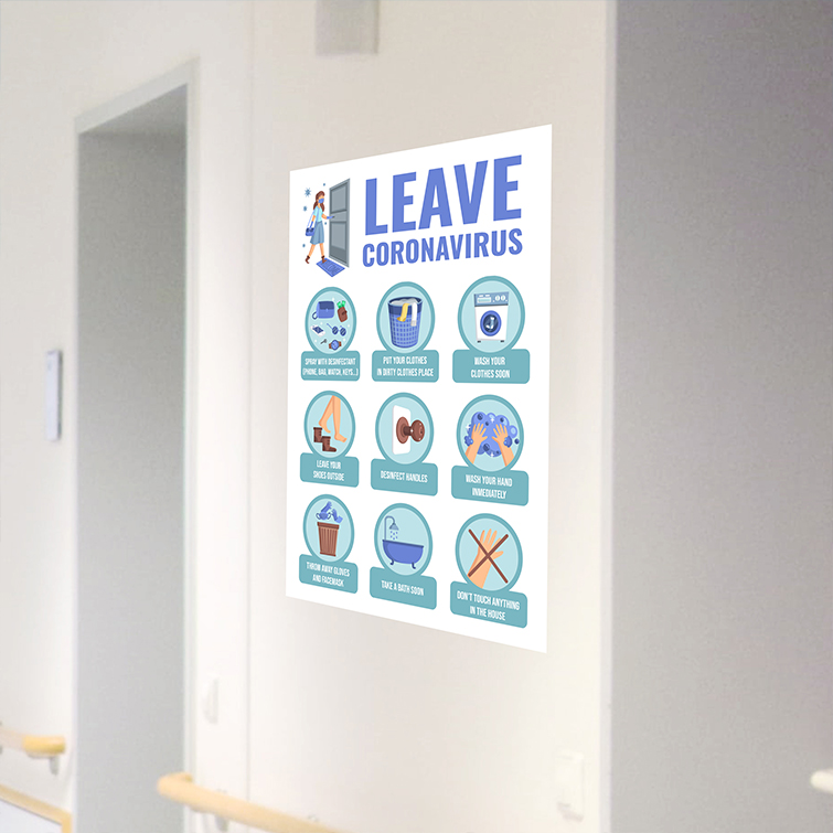 Safety Rules Decals   White Window Decals   The white background of the material creates brighter color printing and Cost-effective, quick printing, and flexible order quantities   Print Magic