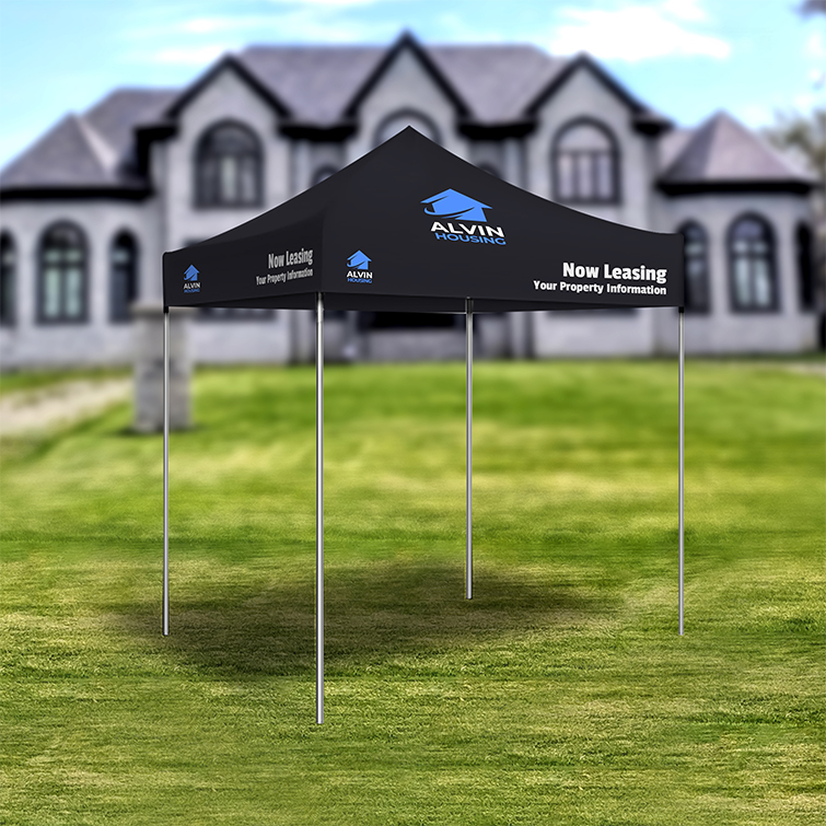 Event Tents | Easy-to-assemble, sturdy aluminum frame and Ideal for indoor and outdoor events | Print Magic