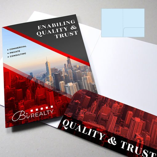 Velvet Soft Touch Presentation Folders | Standard Right Pocket No Business Card Slits And Preassembled Folders made to your exact requirements | Print Magic