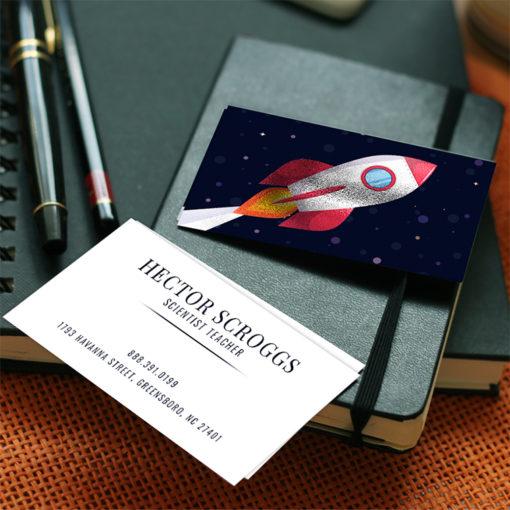 Akuafoil Business Cards | Akua Foil Business Cards Horizontal Education | PrintMagic