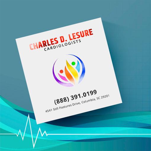 Akuafoil Business Cards | Akua Foil Business Cards Square Healthcare | PrintMagic