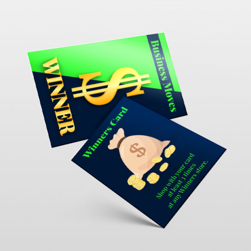 Spot UV Trading Cards   Durable and long-lasting coating on glossy paper stock and Spot UV with Silk Lamination Trading Card Business Move Cards   PrintMagic