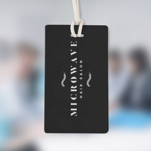 Velvet Soft Touch Hang Tags | Petal-soft texture with a special laminate feel With Velvet Soft Touch lamination adds a matte and durable finish | PrintMagic