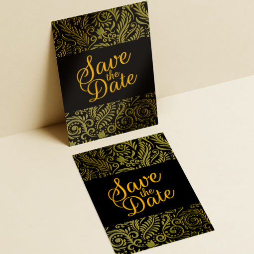 AQUA-FOIL Postcards | In Line foil elements with UV or Spot UV coating and Perfect for Direct Mailing or EDDM campaigns | PrintMagic