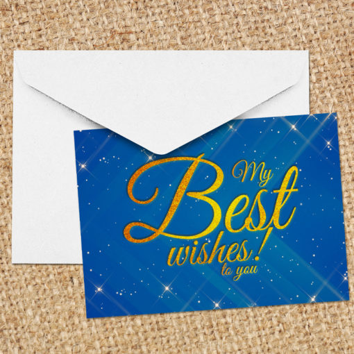 Flat Foil Greeting Cards | Print stunning and classy looking Greeting Cards with metallic foil and Spot UV coating and Silk lamination to enhance your product | PrintMagic
