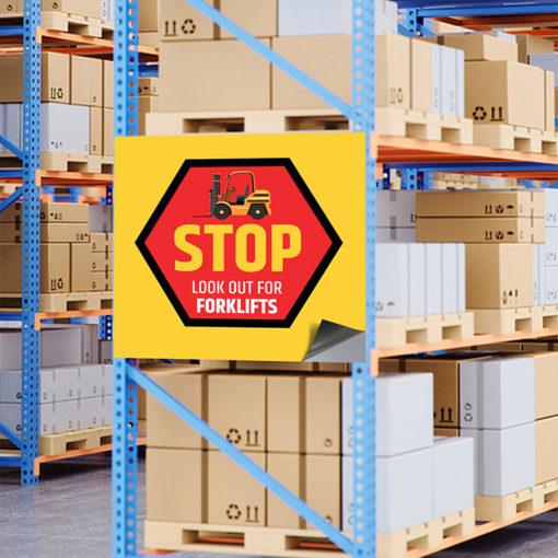 Warehouse Magnetic Signs Printing at PrintMagic