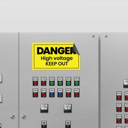 Safety Signs Printing at PrintMagic
